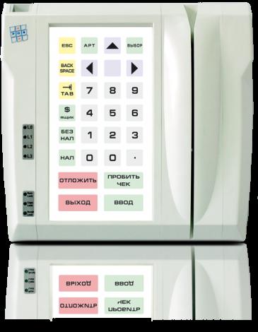 Защищенная клавиатура LPOS-II-032P со считывателем карт и сканером отпечатков