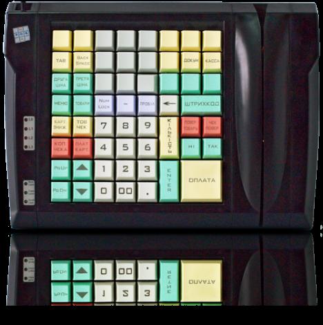 Клавиатура LPOS-II-64 с клавишами с лазерной гравировкой