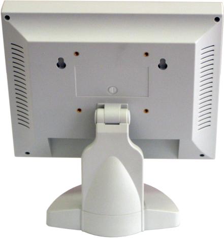 POS-монитор LPOS-8.4TFT серого цвета. Вид сзади