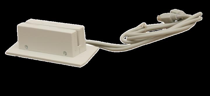Считыватель магнитных карт MAG-II серого цвета с интерфейсом PS/2