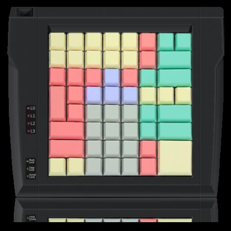 Клавиатура LPOS-II-64 чёрного цвета