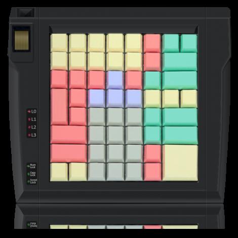 Клавиатура LPOS-II-64 со сканером отпечатков пальцев
