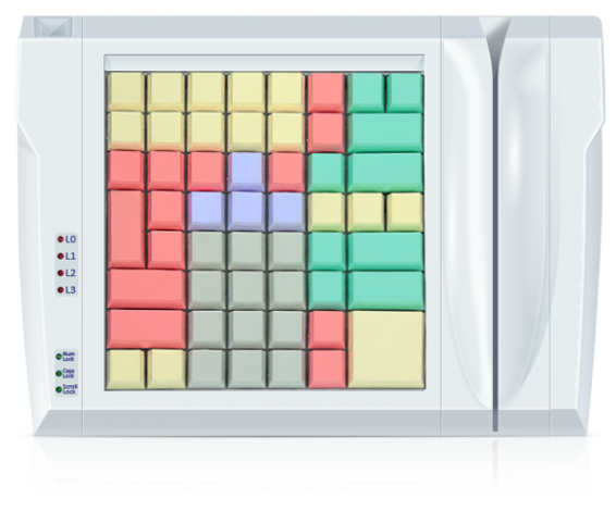 Клавиатура LPOS-II-064 со считывателем магнитных карт