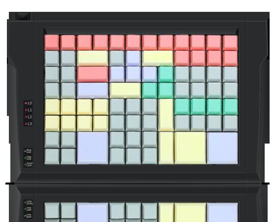 Клавиатура LPOS-96 чёрного цвета