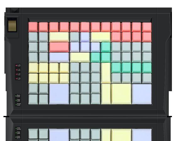 Клавиатура LPOS-II-96 со сканером отпечатков пальцев