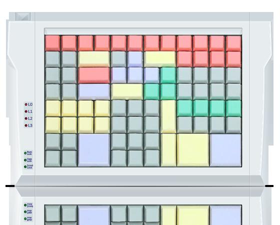 Клавиатура LPOS-II-96 серого цвета