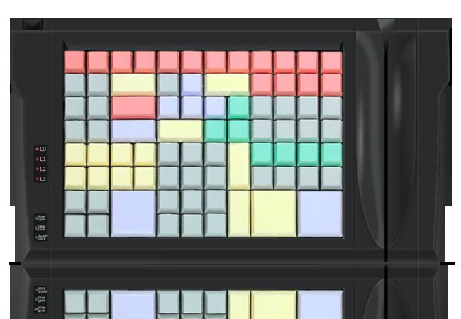 LPOS-96 keyboard w/ magnetic stripe reader