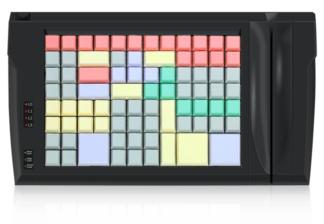 Клавиатура LPOS-II-96 со считывателем магнитных карт